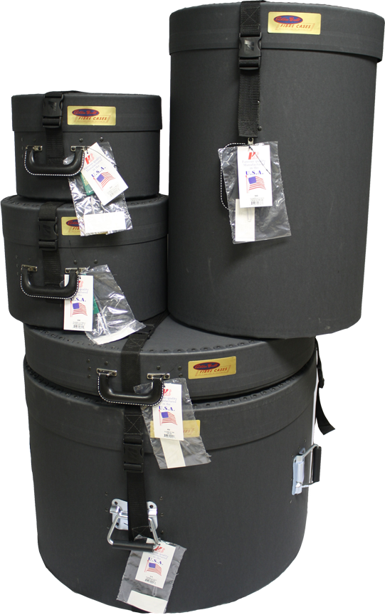 VULCANIZED FIBRE DRUM CASES
